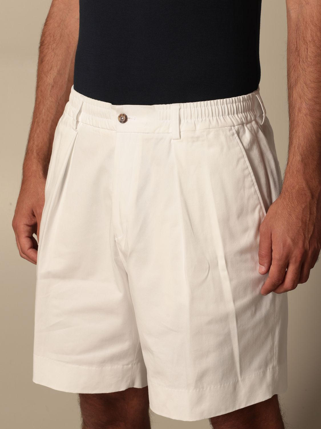 Short Be Able: Trousers men Be Able white 4
