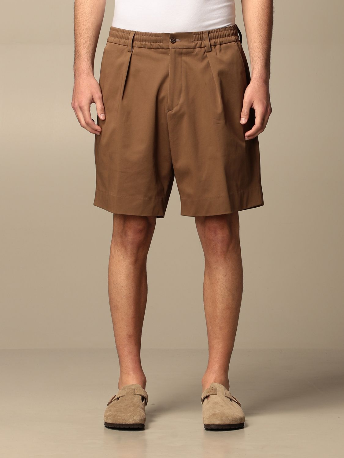 Short Be Able: Trousers men Be Able tobacco 1