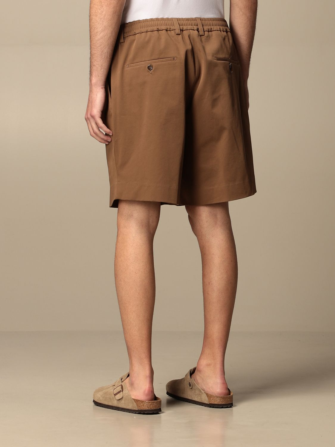 Short Be Able: Trousers men Be Able tobacco 2