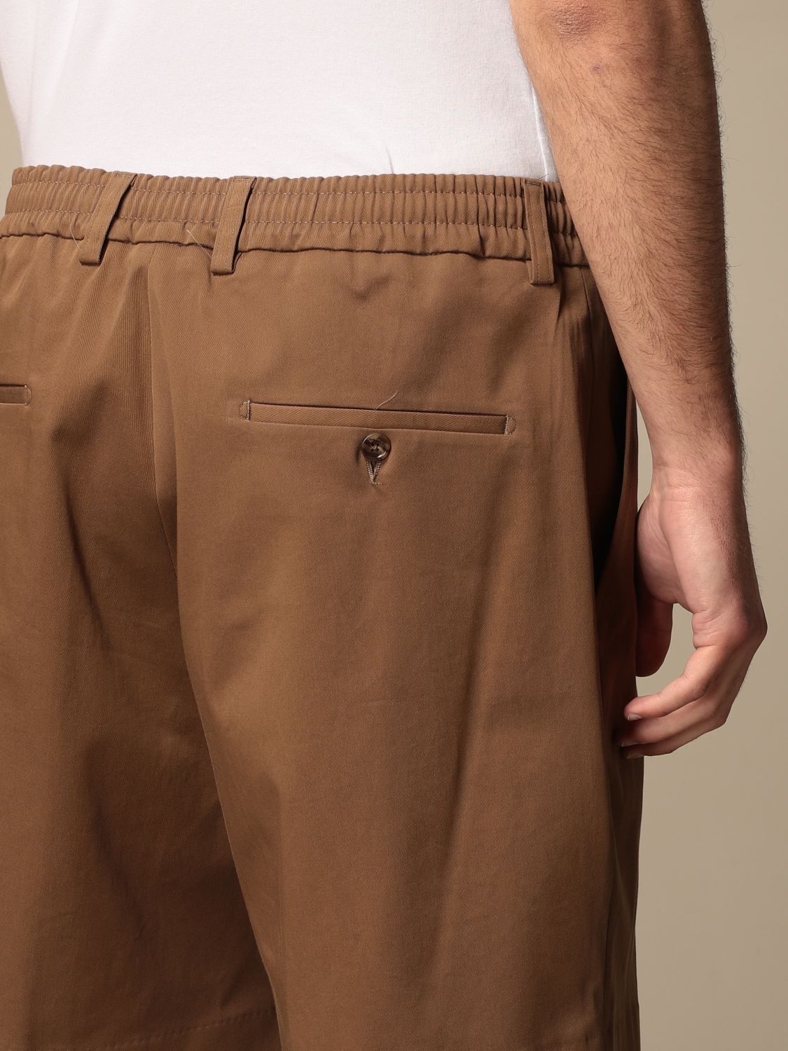 Short Be Able: Trousers men Be Able tobacco 4