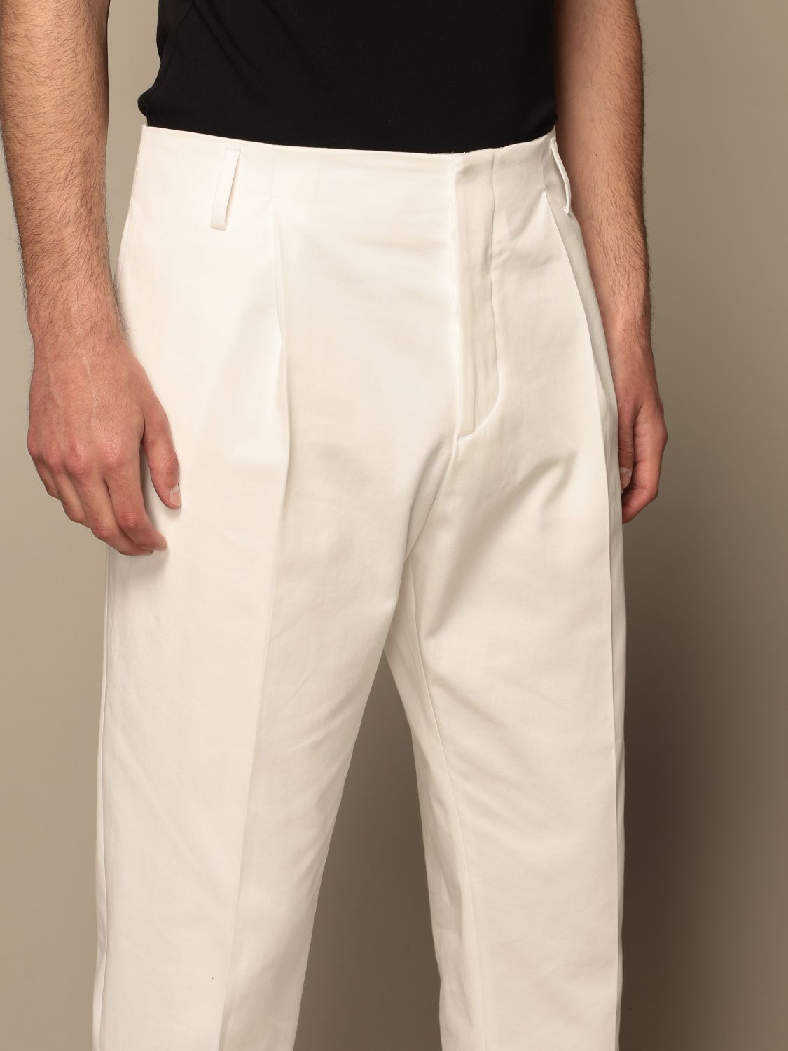 Trousers Be Able: Trousers men Be Able white 4