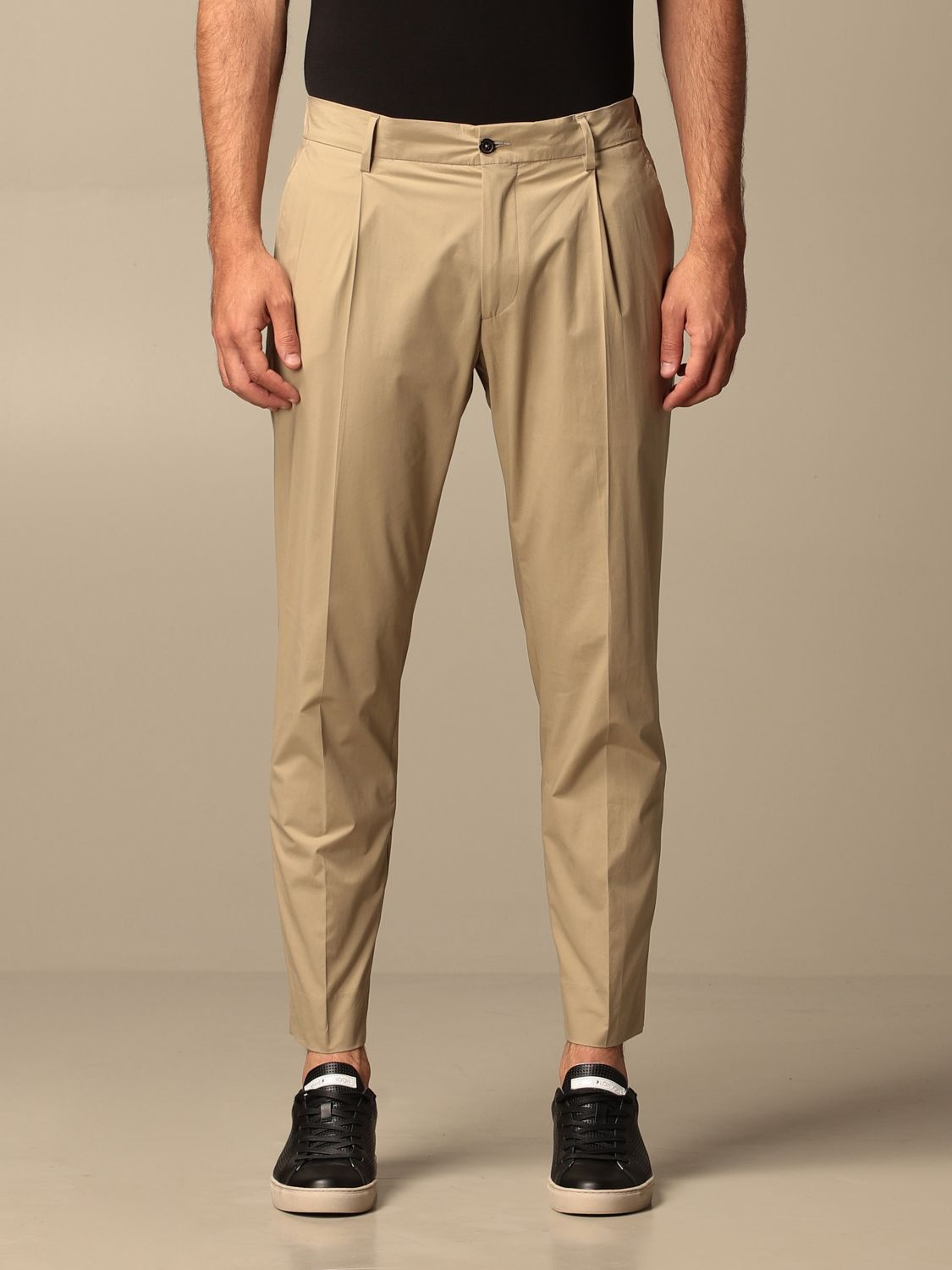 Trousers Be Able: Trousers men Be Able beige 1
