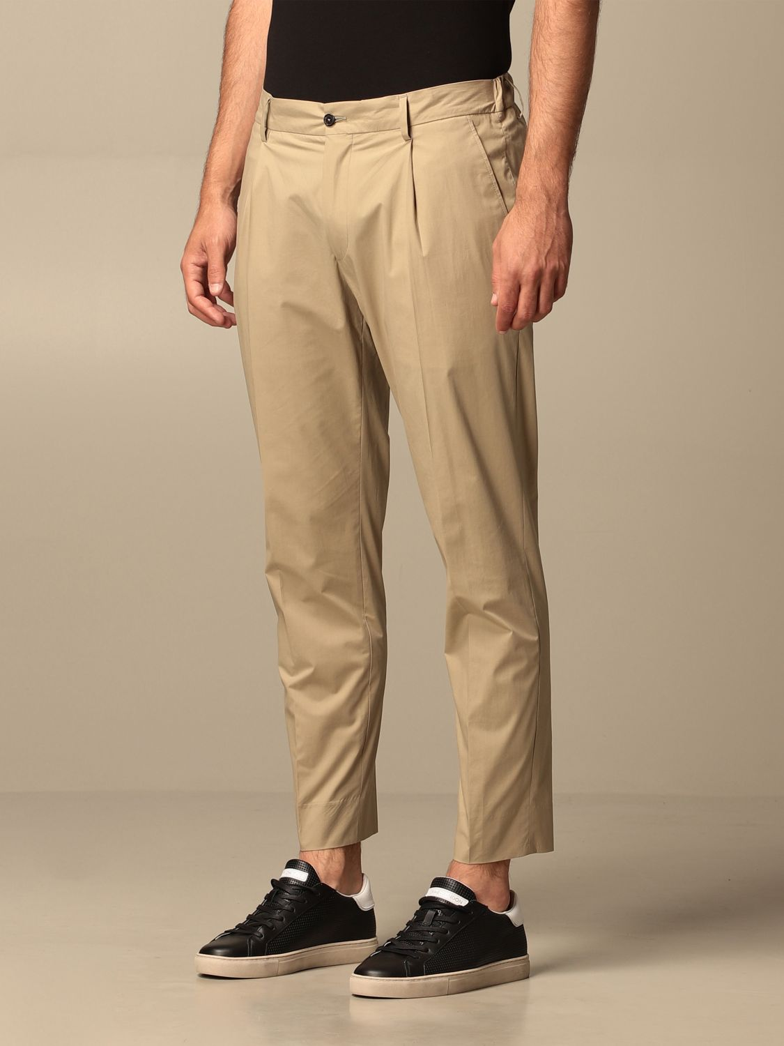Trousers Be Able: Trousers men Be Able beige 3