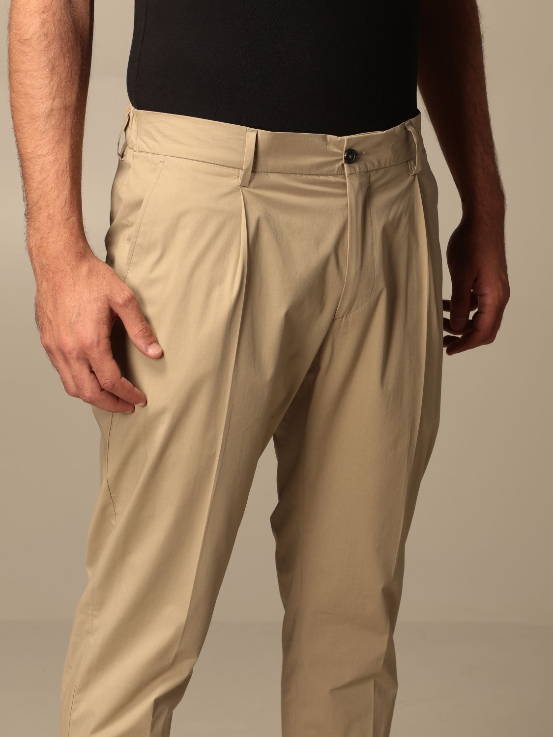 Trousers Be Able: Trousers men Be Able beige 4