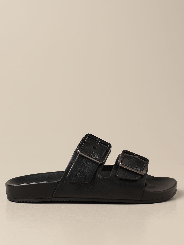 Sandales Balenciaga: Chaussures homme Balenciaga noir 1