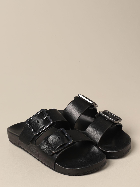 Sandales Balenciaga: Chaussures homme Balenciaga noir 2