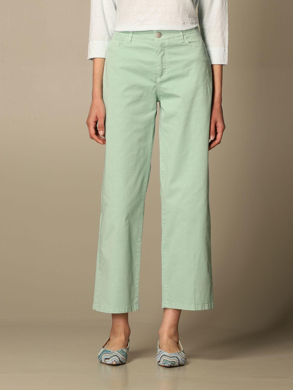 牛仔裤 Malo: 裤子 女士 Malo 绿色 1