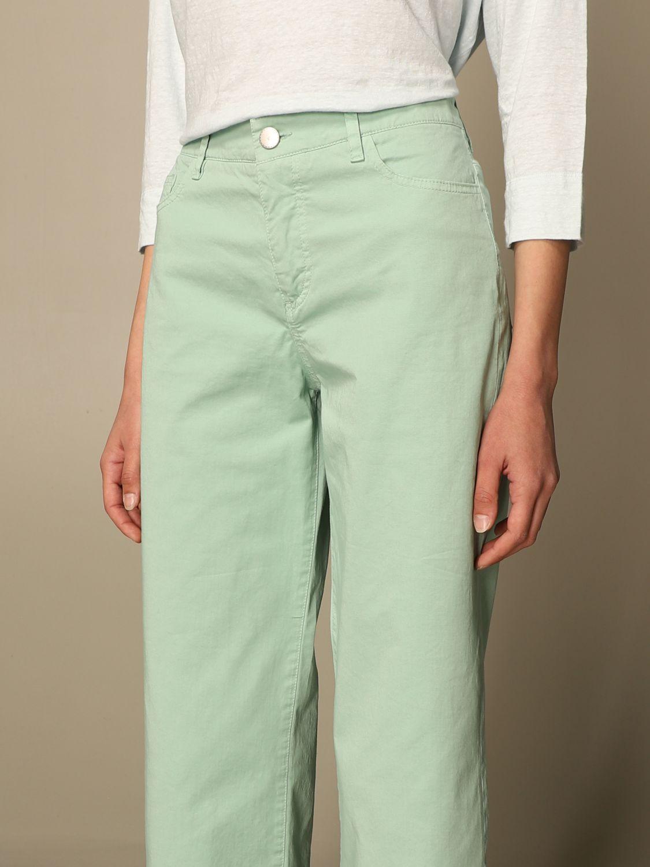 牛仔裤 Malo: 裤子 女士 Malo 绿色 4