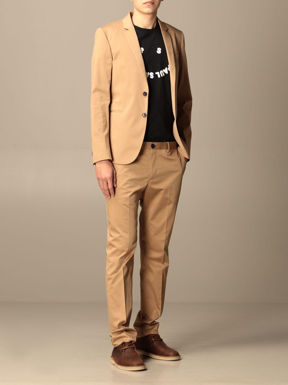 Blazer Ps Paul Smith: Jacket men Paul Smith London camel 2