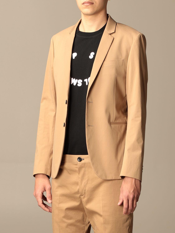 Blazer Ps Paul Smith: Jacket men Paul Smith London camel 4