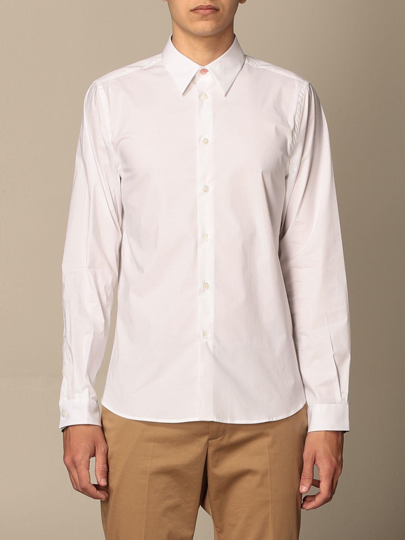 Camicia Paul Smith London: Camicia basic Paul Smith London bianco 1