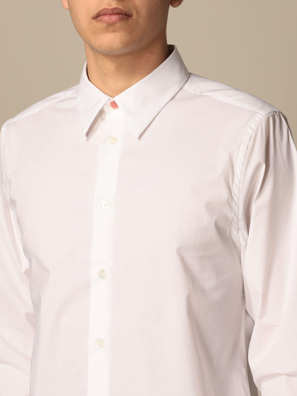 Camicia Paul Smith London: Camicia basic Paul Smith London bianco 3