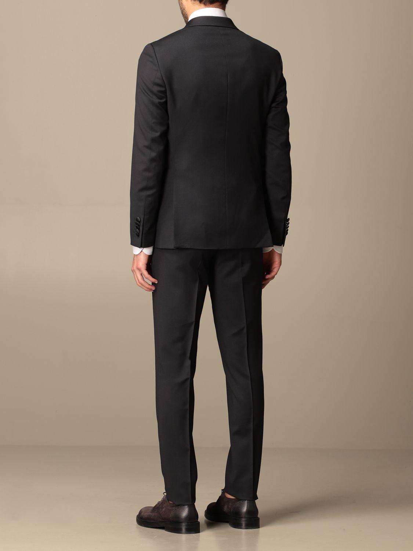 Suit Alessandro Dell'acqua: Suit men Alessandro Dell'acqua blue 3
