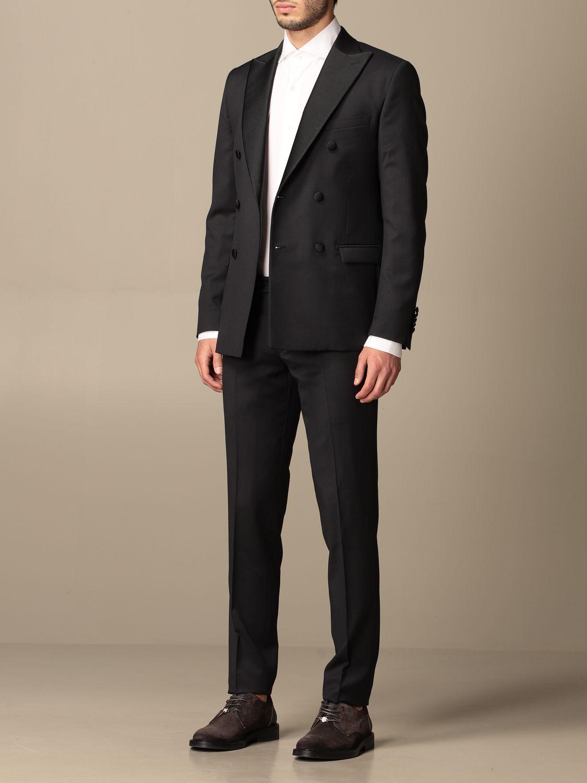 Suit Alessandro Dell'acqua: Suit men Alessandro Dell'acqua blue 4