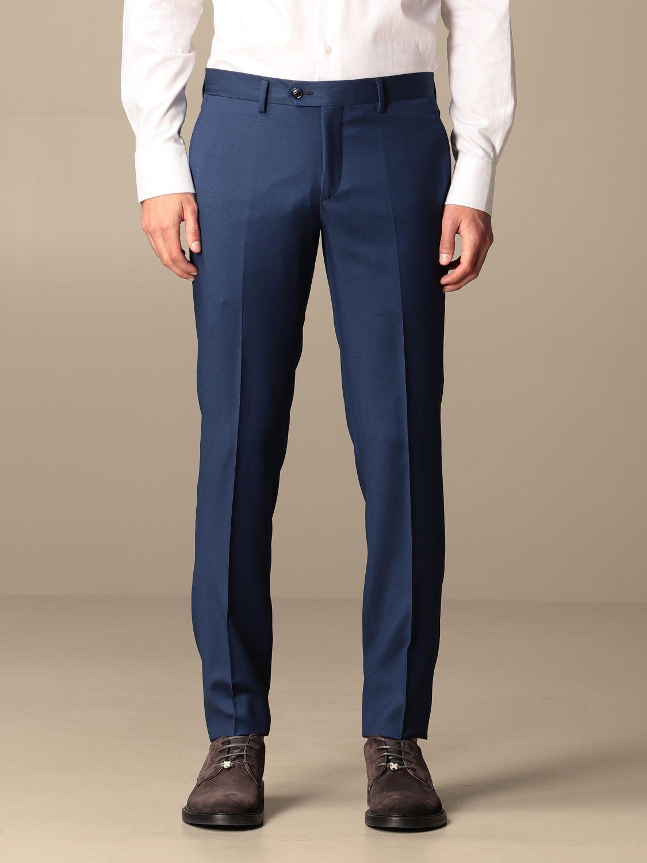 Suit Alessandro Dell'acqua: Suit men Alessandro Dell'acqua blue 6