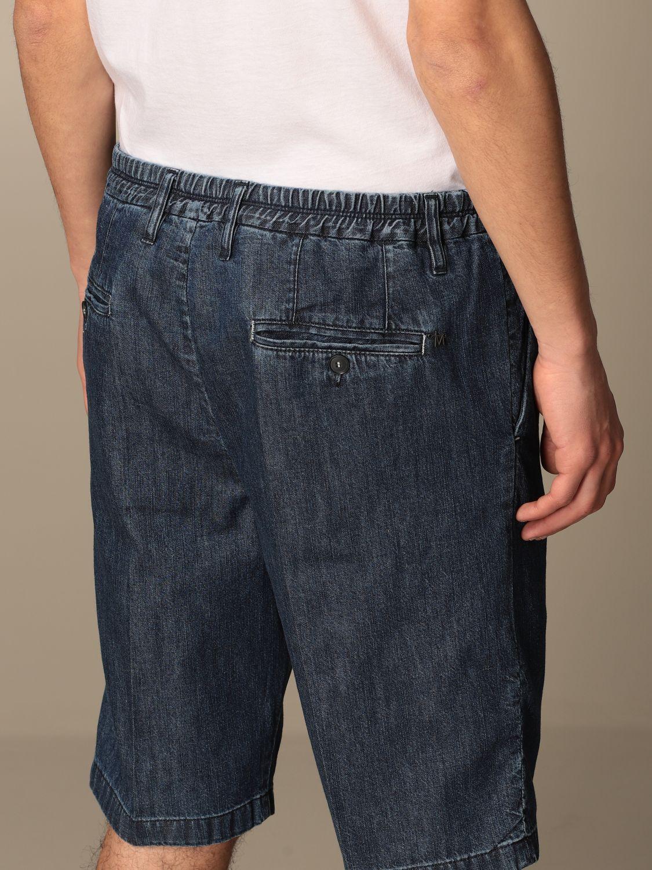 Pantalones cortos Daniele Alessandrini: Pantalones cortos hombre Daniele Alessandrini denim 4