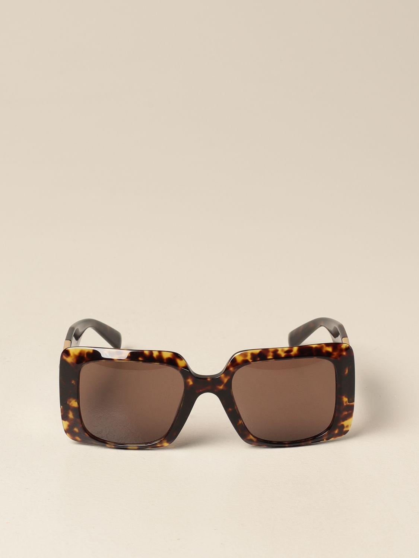 Солнцезащитные очки Versace: Солнцезащитные очки Женское Versace коричневый 2