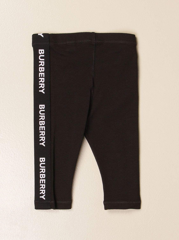 Pantalón Burberry: Pantalón niños Burberry negro 2