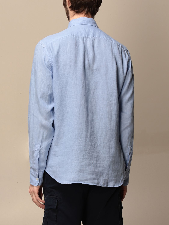 Shirt Aspesi: Shirt men Aspesi gnawed blue 2