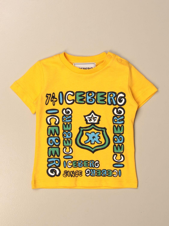 T-shirt Iceberg: T-shirt kids Iceberg yellow 1