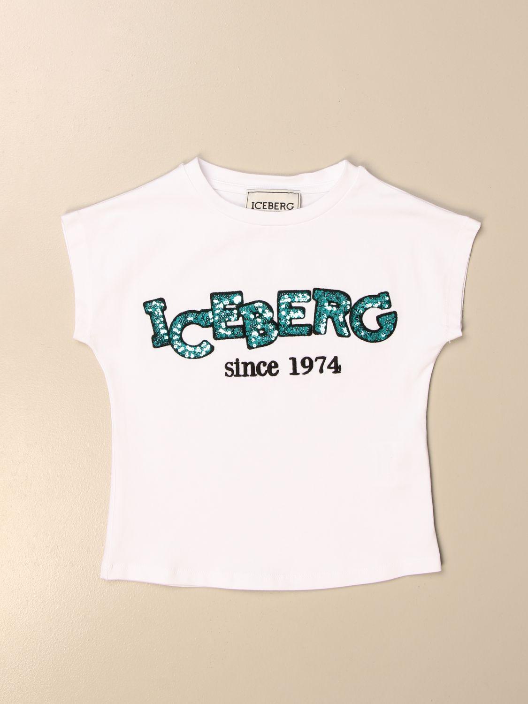 T-shirt Iceberg: T-shirt kids Iceberg white 1