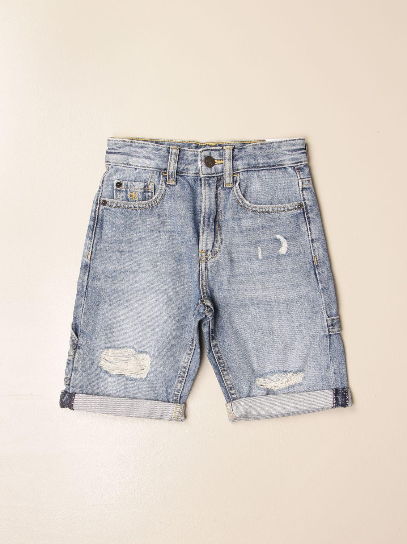 Pantalón corto Calvin Klein: Pantalón corto niños Calvin Klein denim 1