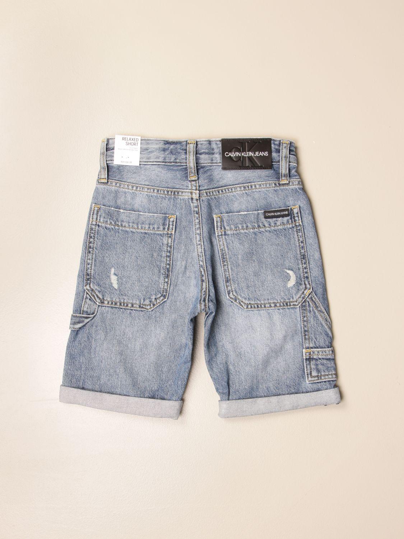 Pantalón corto Calvin Klein: Pantalón corto niños Calvin Klein denim 2