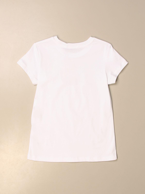 Camisetas Calvin Klein: Camisetas niños Calvin Klein blanco 2