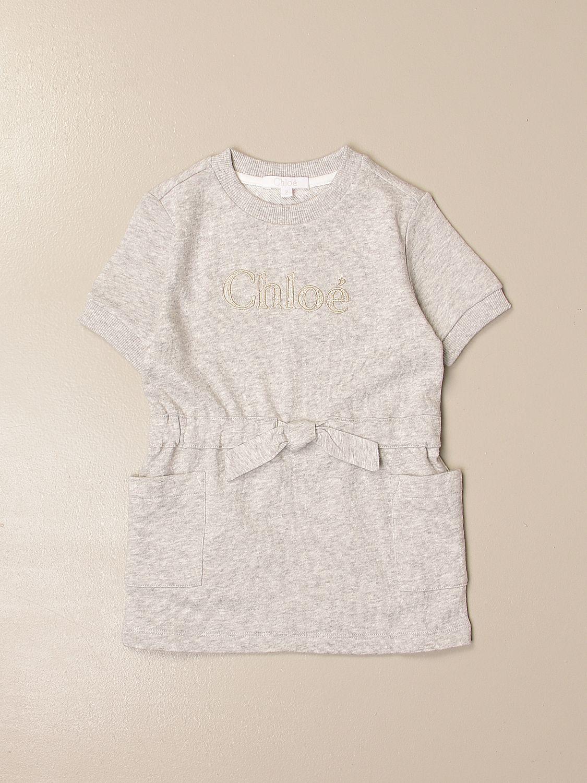 Vestido Chloé: Vestido niños ChloÉ gris 1
