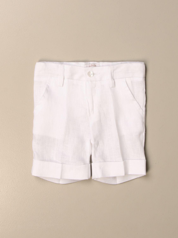 Shorts Le Bebé: Pantalon enfant Le BebÉ blanc 1