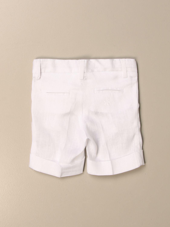 Shorts Le Bebé: Pantalon enfant Le BebÉ blanc 2