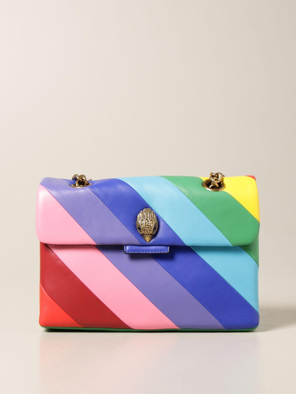 Borsa a spalla Kurt Geiger London: Borsa a spalla Kurt Geiger London in pelle multicolor fantasia 1