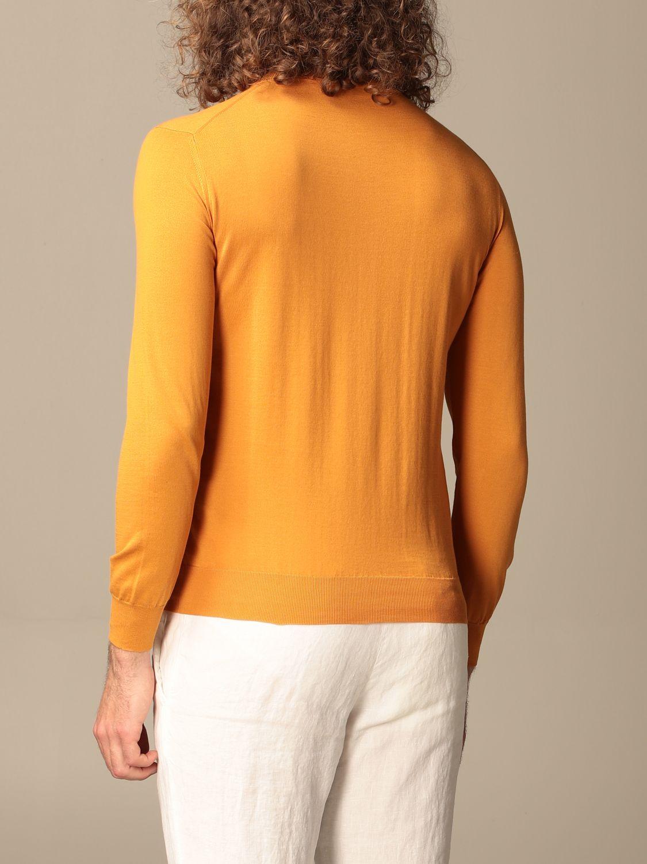 Maglia Altea: Maglia a girocollo Altea in cotone arancione 2