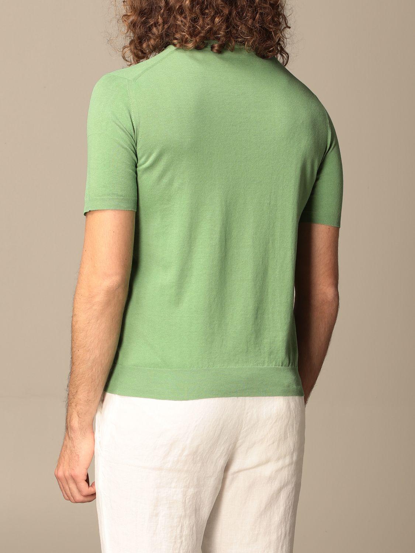 Maglia Altea: Maglia Altea in lino e cotone verde 2