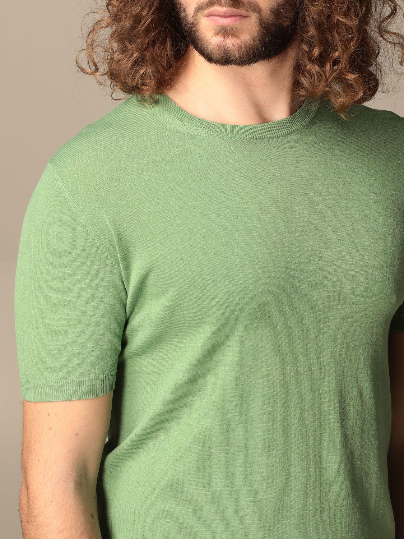 Maglia Altea: Maglia Altea in lino e cotone verde 3