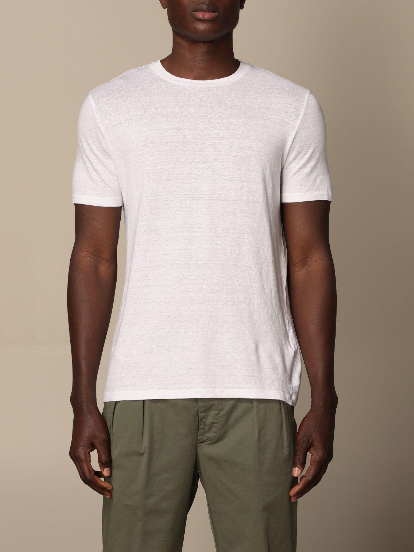 T-shirt Altea: Altea basic linen T-shirt white 1