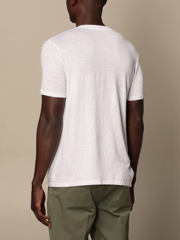 T-shirt Altea: Altea basic linen T-shirt white 2