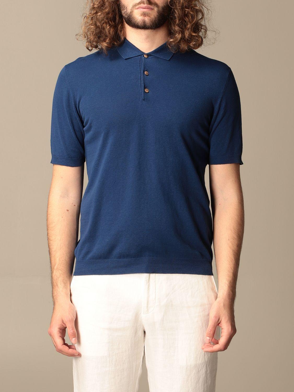 Polo shirt Altea: Polo shirt men Altea blue 1