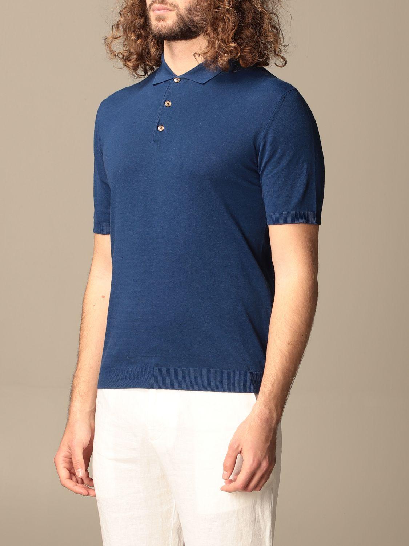 Polo shirt Altea: Polo shirt men Altea blue 3