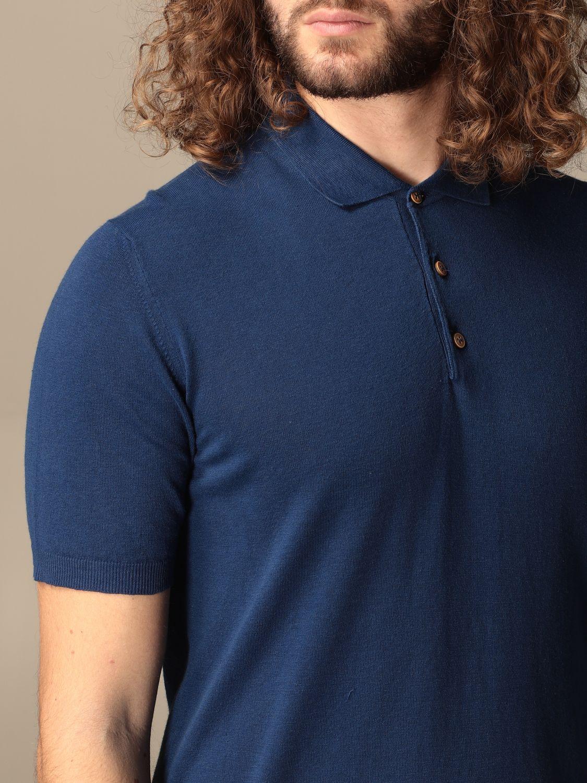 Polo shirt Altea: Polo shirt men Altea blue 4