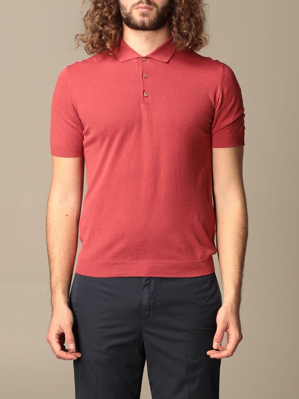 Polo shirt Altea: Polo shirt men Altea red 1