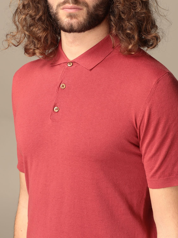 Polo shirt Altea: Polo shirt men Altea red 3