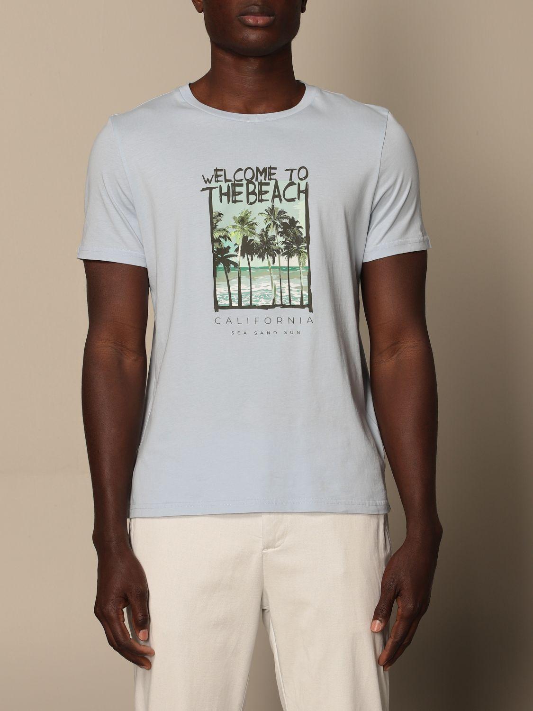 T-shirt Altea: Altea cotton T-shirt sky blue 1