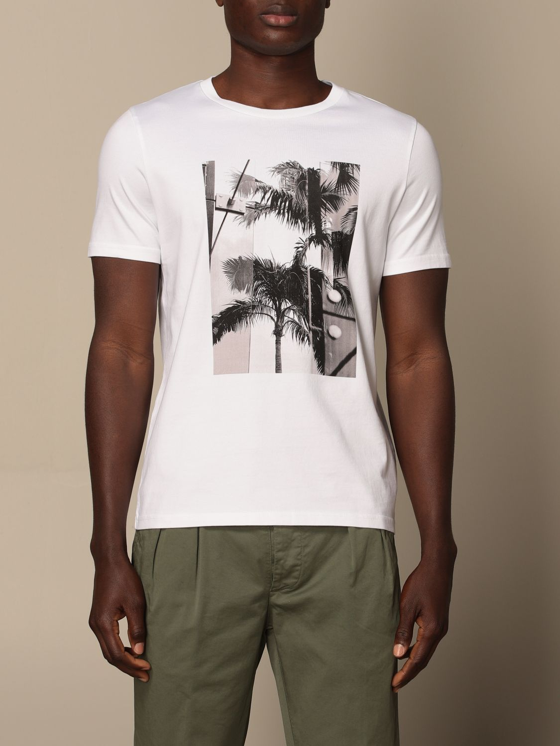 T-shirt Altea: T-shirt men Altea white 1