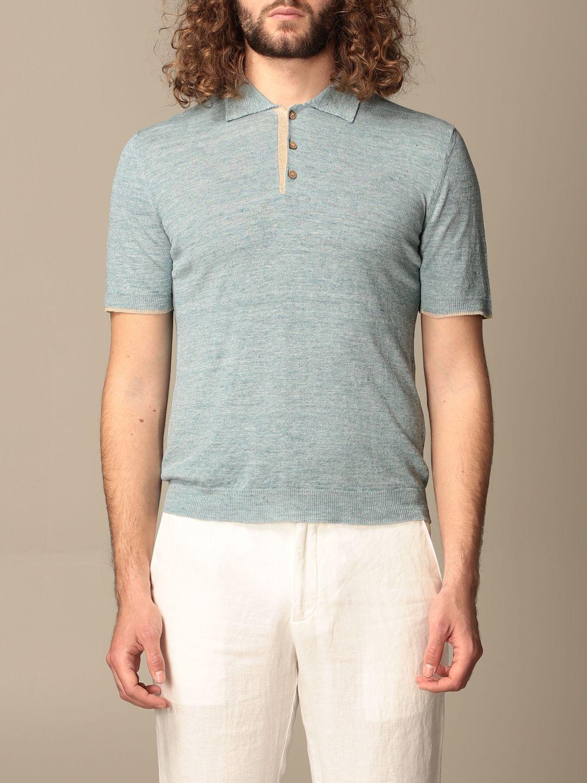 Polo shirt Altea: Polo shirt men Altea turquoise 1