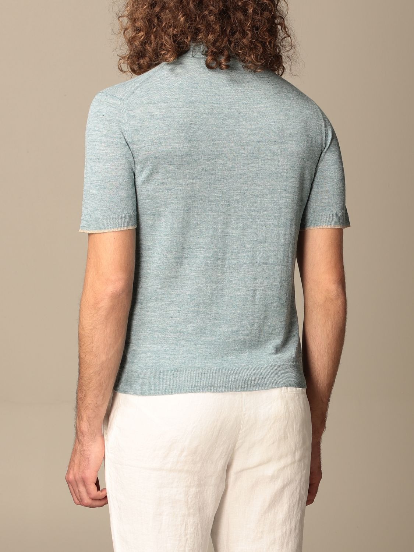 Polo shirt Altea: Polo shirt men Altea turquoise 2