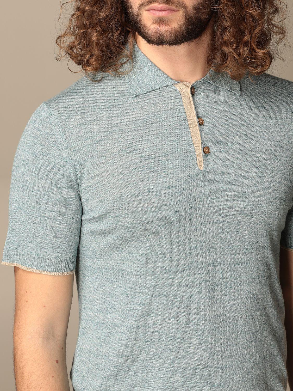 Polo shirt Altea: Polo shirt men Altea turquoise 3