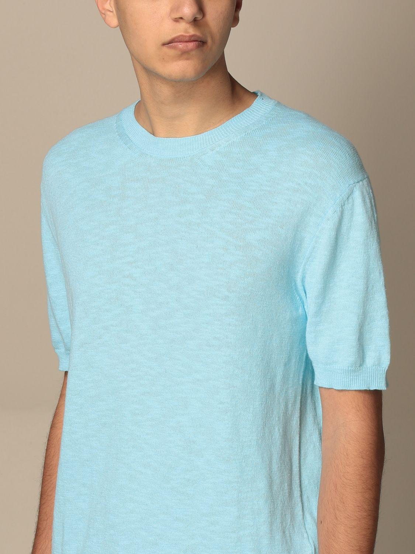 T-shirt Altea: Altea cotton T-shirt sky blue 3