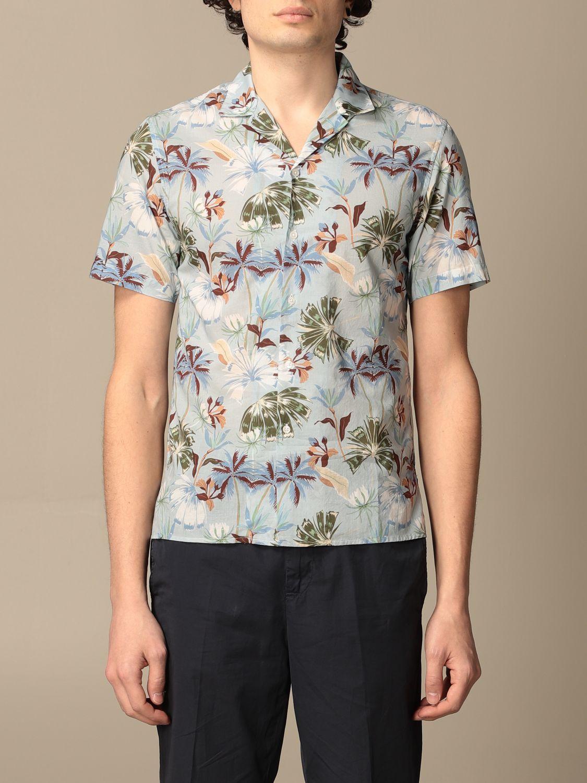Camicia Altea: Camicia Altea in cotone a fantasia cielo 1