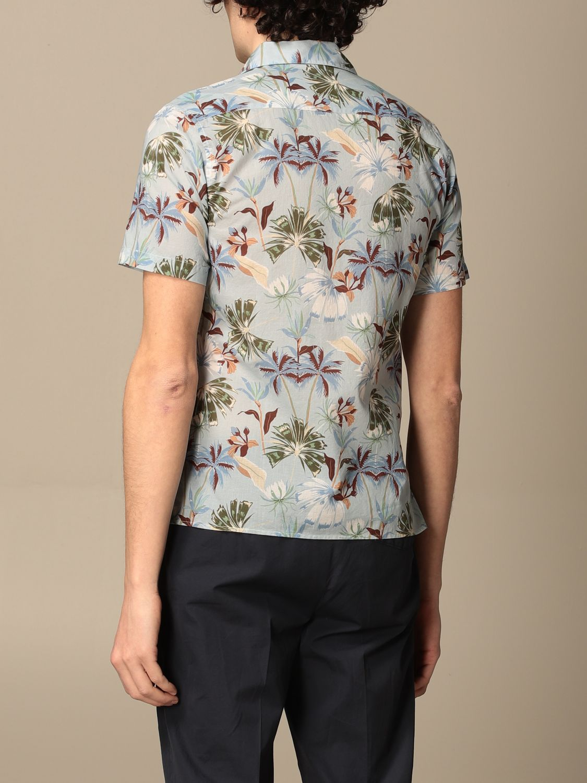 Camicia Altea: Camicia Altea in cotone a fantasia cielo 2